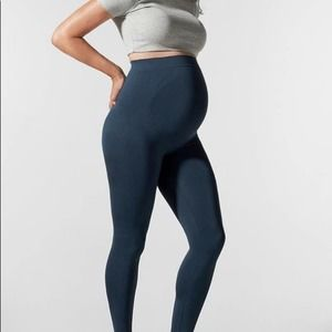 BLANQI Everyday Navy Blue Maternity Leggings L